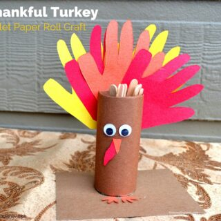 Thankful Turkey Toilet Paper Roll Craft {A #BringingInnovation Tutorial}