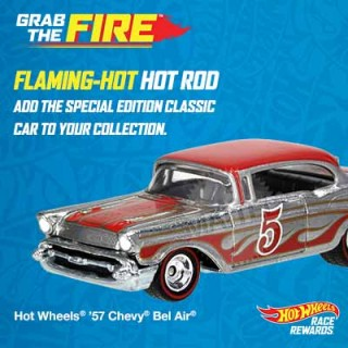 Hot Wheels Grab The Fire Race Rewards Program {#HotWheels #RaceRewards}