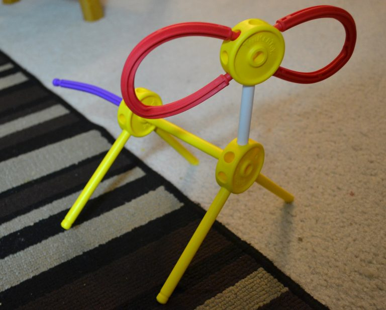 Creativity unleashed with the 150 Piece TINKERTOY Essentials Value Set {+ Giveaway}
