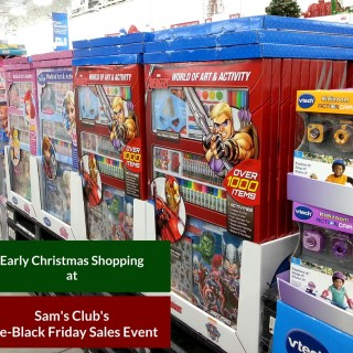 Early Christmas Shopping at Sam's Club's Pre-Black Friday Sale