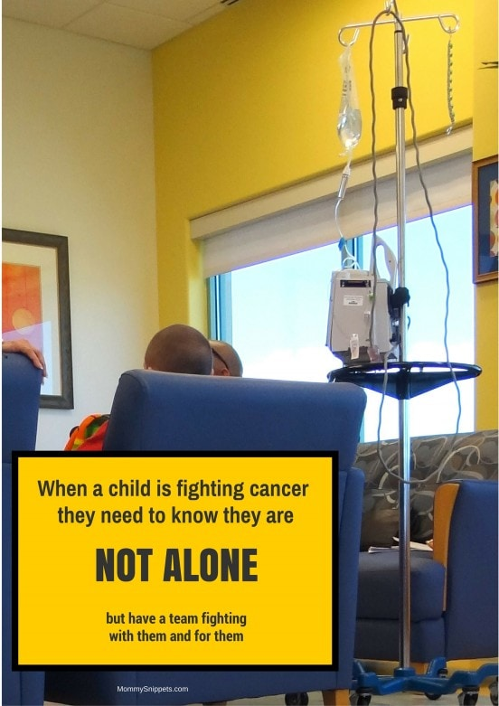 When a child is fighting cancer quote - Mommy Snippets