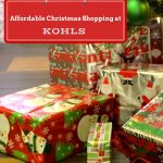 Affordable Christmas Shopping at Kohls