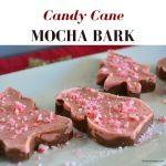 How to make Candy Cane Mocha Bark