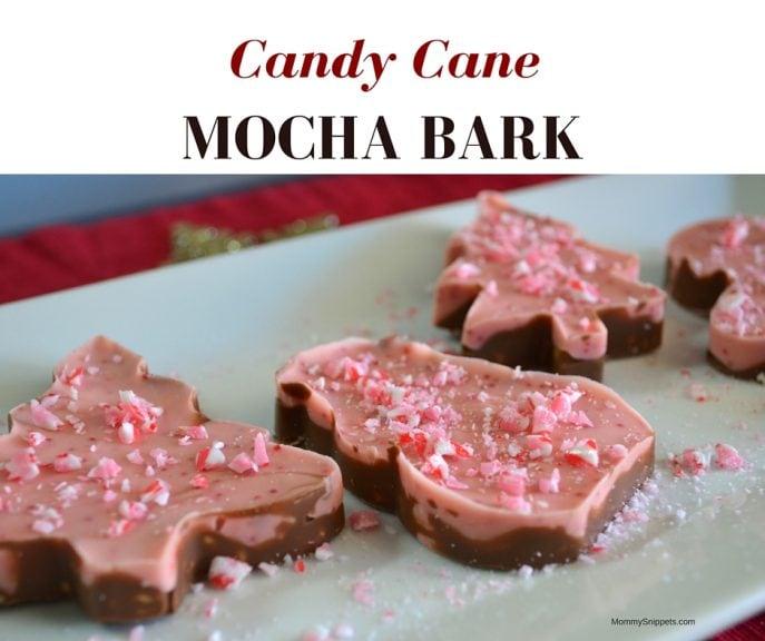 Candy Cane Mocha Bark- MommySnippets.com {#Sponsored #MakeItMerrier} (2)