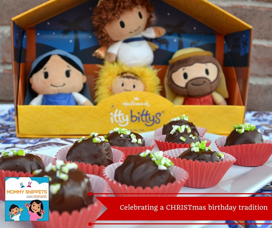 Celebrating a CHRISTmas birthday tradition with Hallmark {+ A Christmas Cocoa Cookie Balls Recipe} (2)