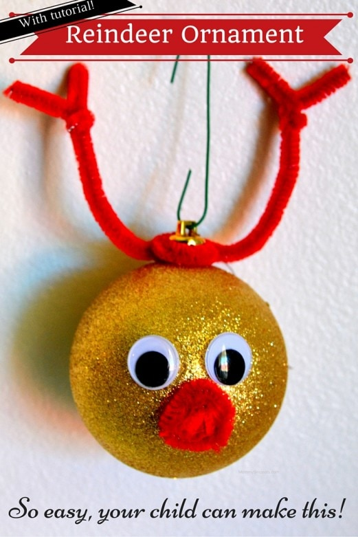 Easy DIY Reindeer Ornaments Your Child Can Make (+ Tutorial) - Mommy Snippets (2)