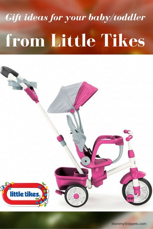 Gift ideas for your baby-toddler from Little Tikes - MommySnippets.com