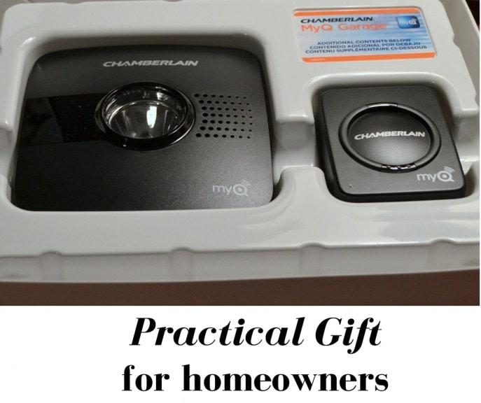 Practical Gift for Homeowners- Chamberlain's MyQ Garage