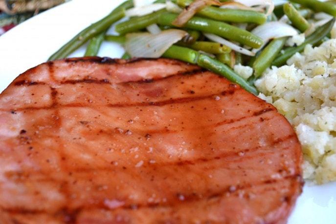 Sliced Ham with Maple Bourbon Glaze- Recipe, Mommy Snippets.com #Sponsored (1)