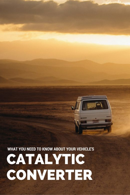 Your Vehicle's Catalytic Converter- What you need to know - MommySnippets.com #Sponsored