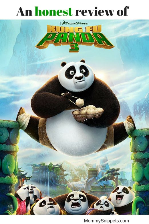 An honest review of the Kung Fu Panda 3 movie- MommySnippets.com