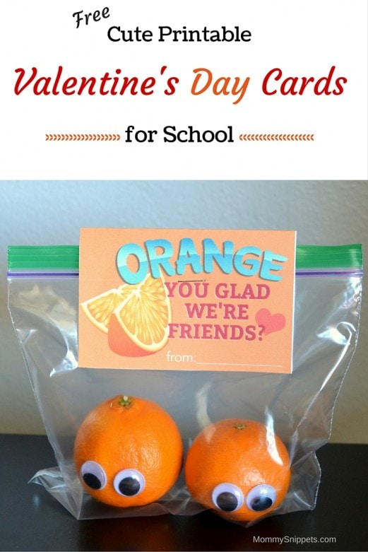 Cute Printable Valentine's Day Cards for School (Free)- MommySnippets.com (1)