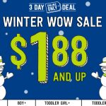 HUGE Crazy 8 Winter Clearance Sale: Prices as low as $1.88!! (Ends TODAY 1/7)