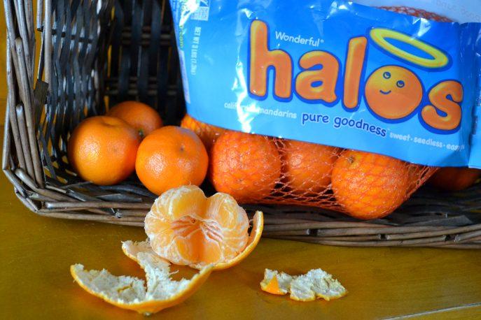 Halo's sweet, seedless mandarin oranges-MommySnippets.com