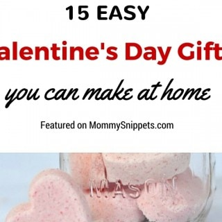 15 Easy Valentine's Day Gifts You Can Make At Home