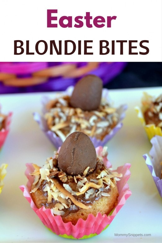 Easter Blondie Bites - MommySnippets.com