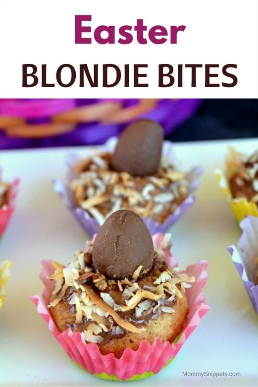 Easter Blondie Bites - MommySnippets.com