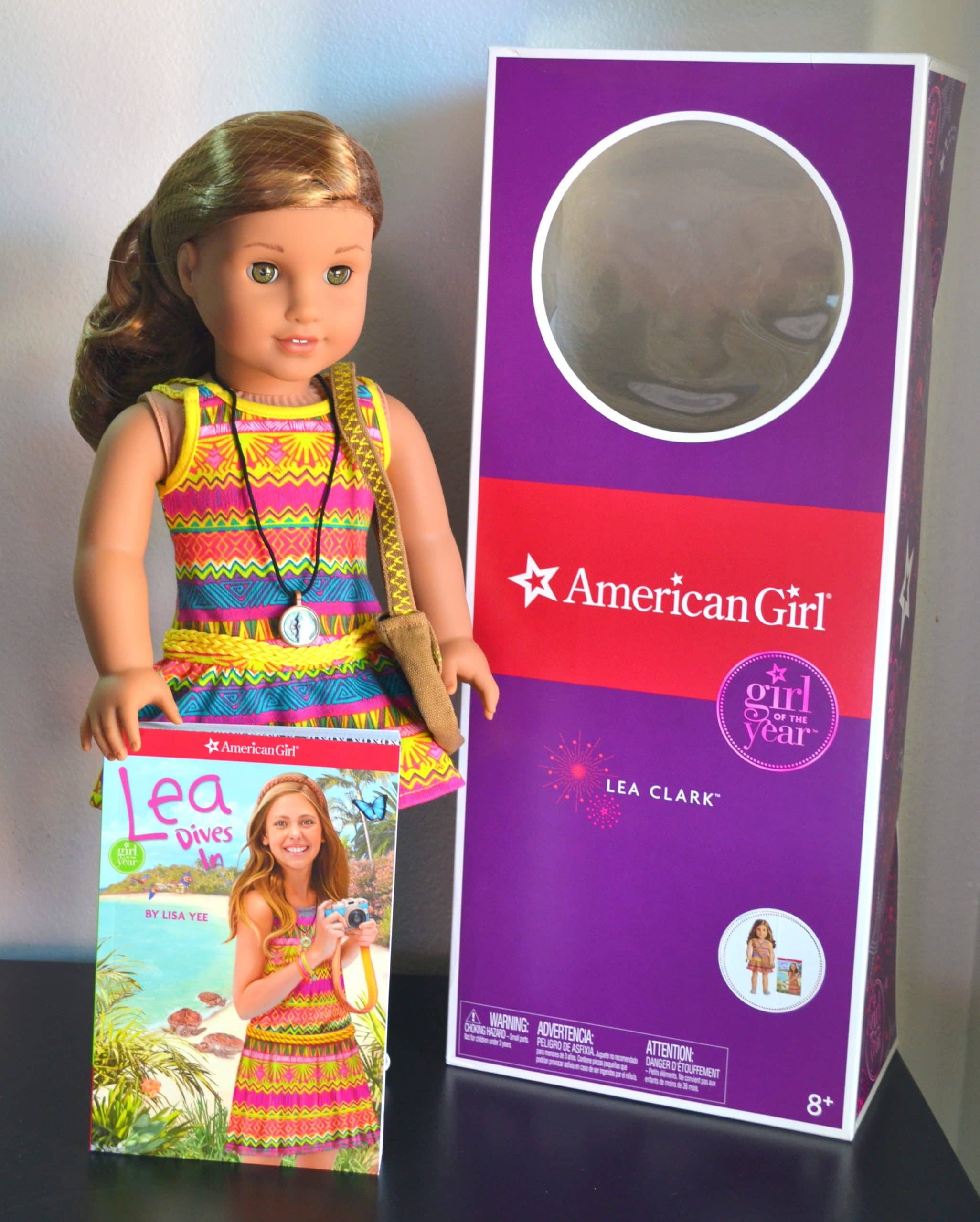 American Girl Doll brand Lea Clark Doll of the Year Bag for Girls