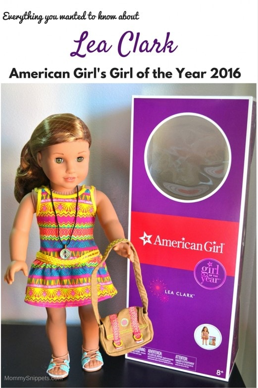 Everything you wanted to know about American Girl's 2016 Girl Of The Year-- MommySnippets.com