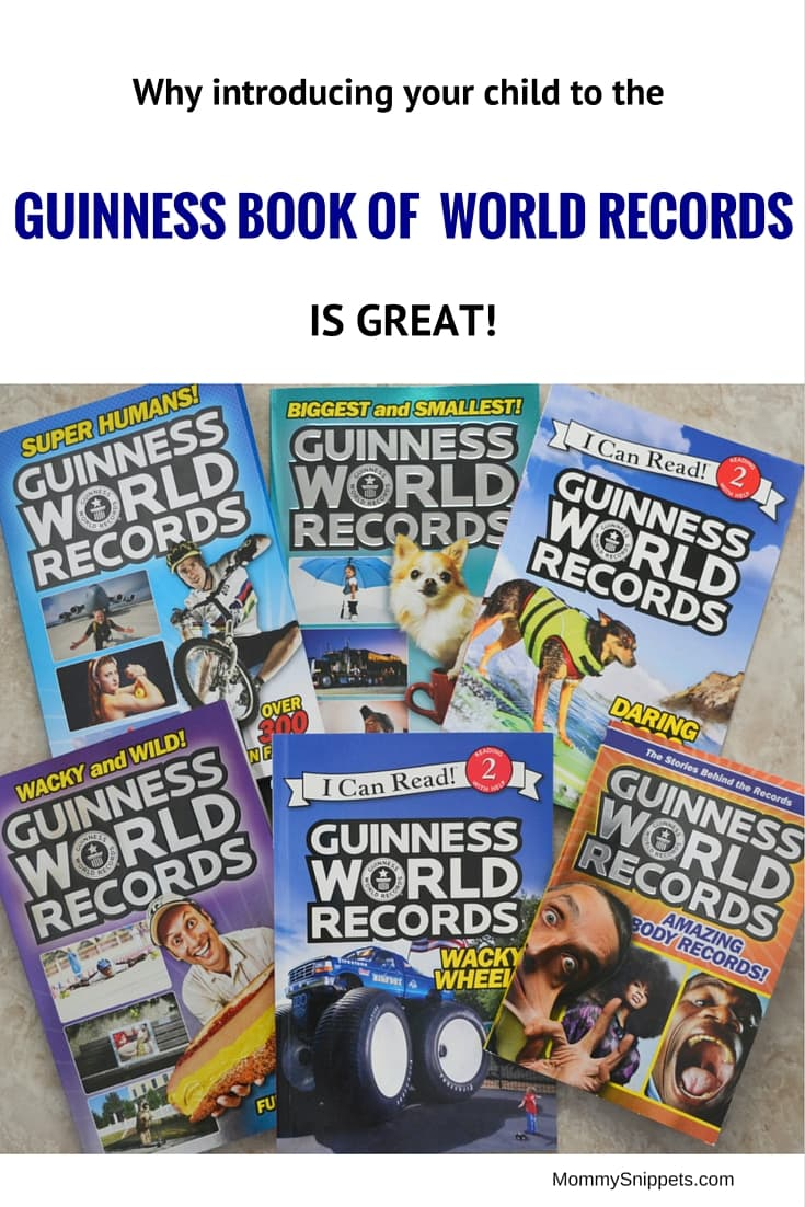 Introducing your child to the Guinness World Records