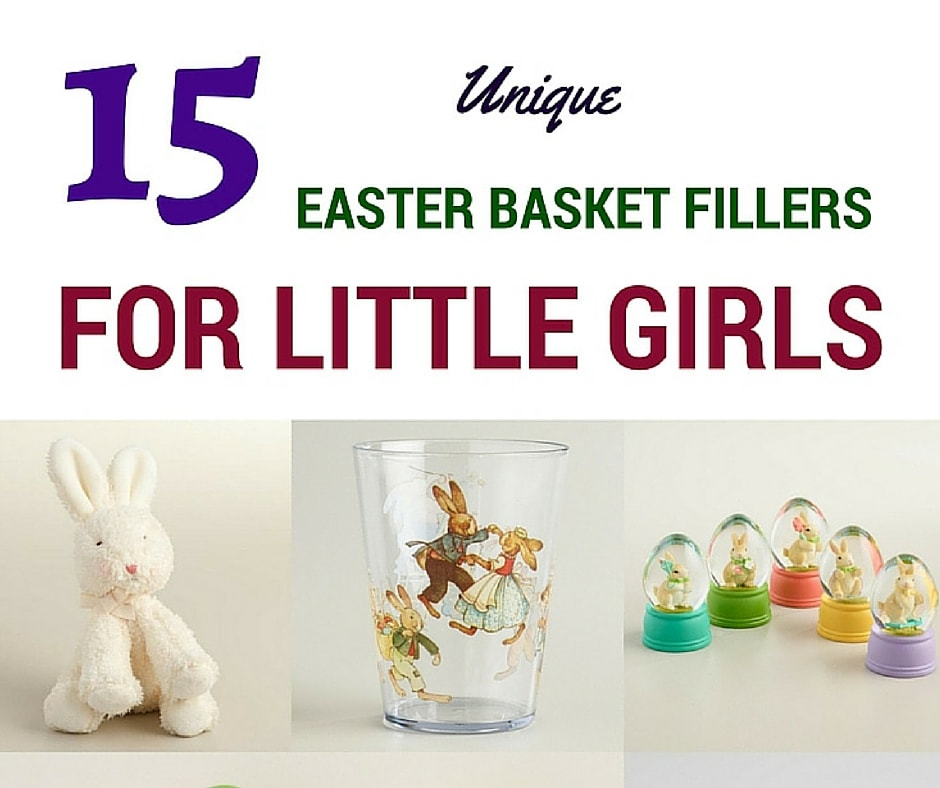 Easter Things: 15 Things That Will Make A Little Girl's Easter Basket Unique
