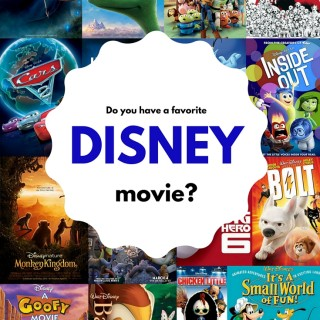 Do you have a favorite Disney movie? (+ A $50 Fandango Gift Card Giveaway- 4 winners)