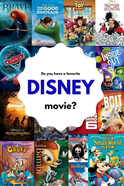 Do you have a favorite Disney movie- - MommySnippets.com