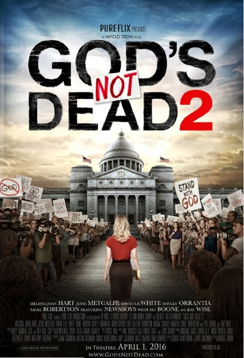 God's NOT Dead 2 comes to theaters tomorrow. {+ A #GodsNOTDead Giveaway}