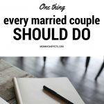 One thing every married couple should do