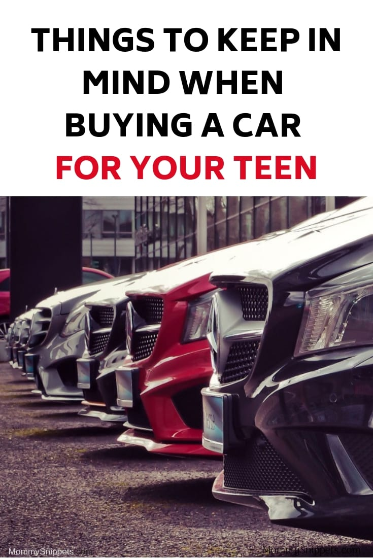Things to keep in mind when buying a car for your teen