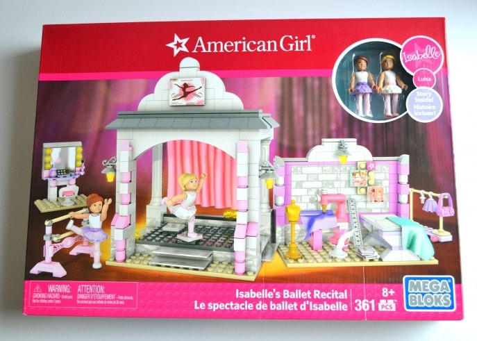 American Girl Construction Set Isabelle Ballet Recital- MommySnippets.com (ad) (1)
