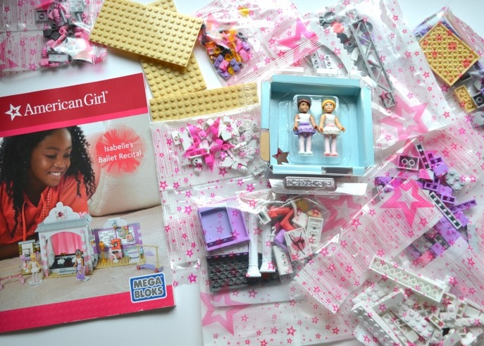 American Girl Construction Set Isabelle Ballet Recital- MommySnippets.com (ad) (3)
