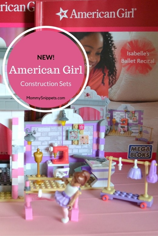 American Girl Construction Sets - MommySnippets.com (ad)