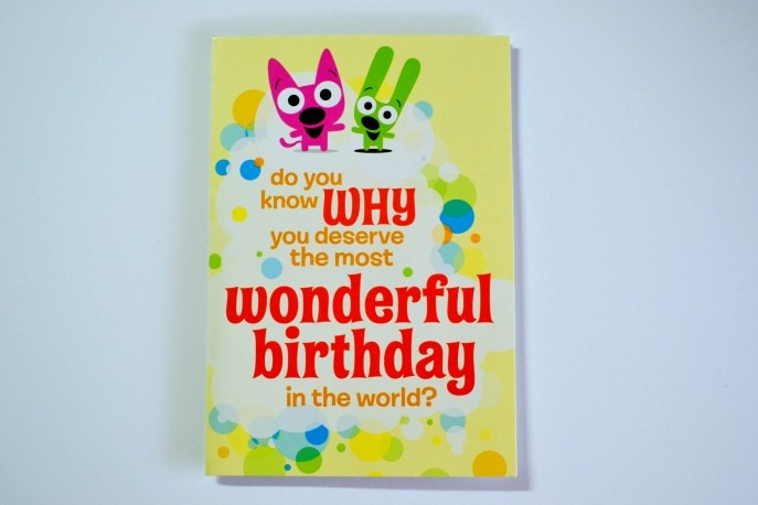 Hallmark Sound Cards add fun to the celebrations- MommySnippets.com #Musical GreetingCards #SoundCards #Hallmark (ad) (3)