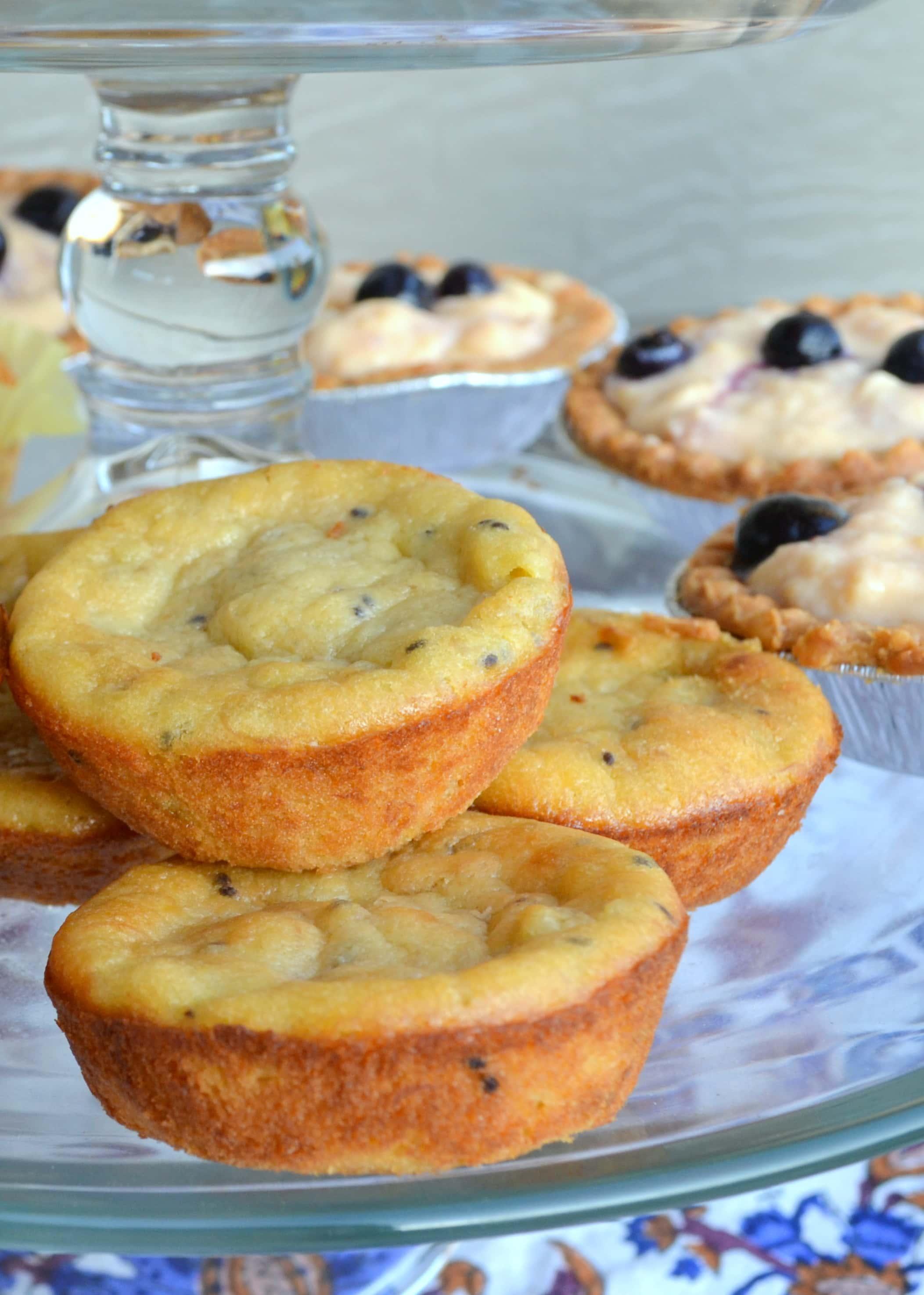 kiwi tea cakes