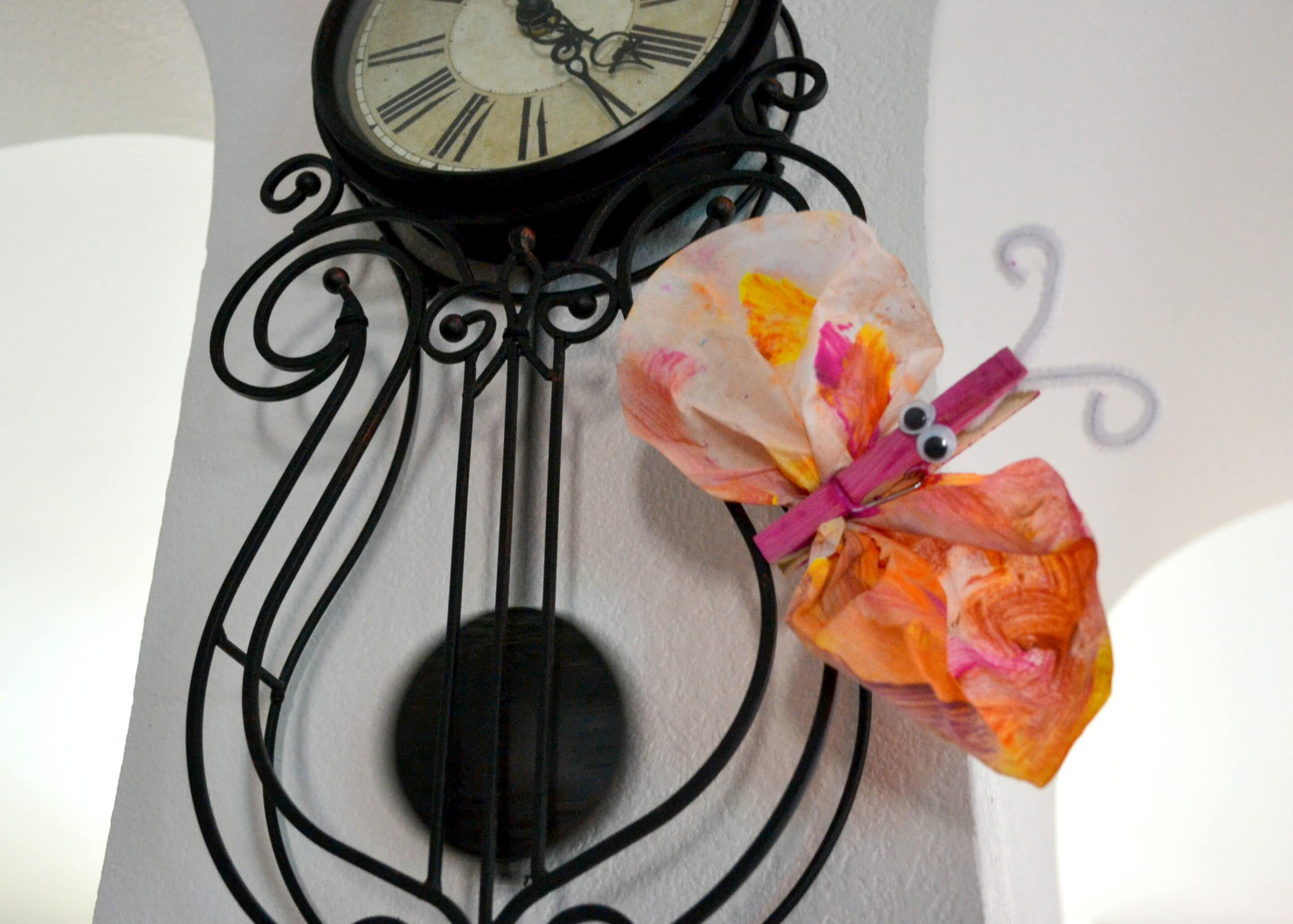 How to make coffee filter butterfly accessories- MommySnippets (35)