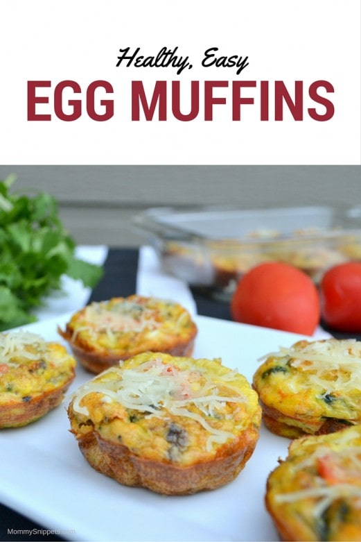 How to make my healthy, easy, Egg Muffins- MommySnippets.com (1)