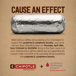 Support The Leukemia & Lymphoma Society on April 14th at any Chipotle Texas location