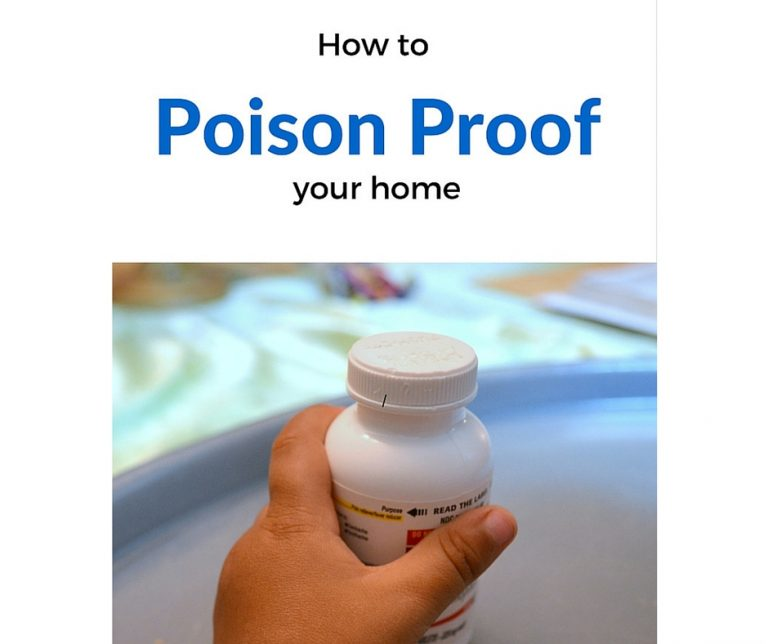 How to Poison Proof your home.