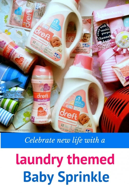 Celebrate new life with a laundry themed Baby Sprinkle