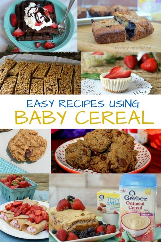 Easy recipes using Baby Cereal- MommySnippets.com (2)