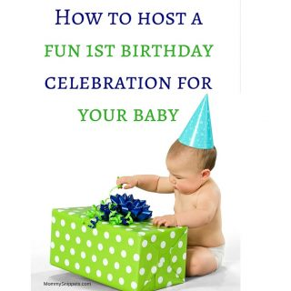 How to host a fun 1st birthday celebration for your baby