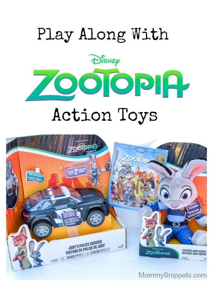 Zootopia Action Toys