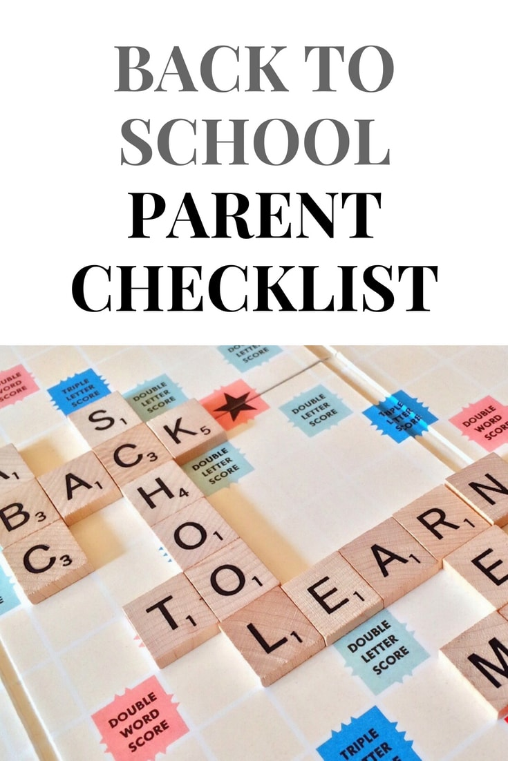 A Back To School Checklist Every Parent Should Read- MommySnippets.com