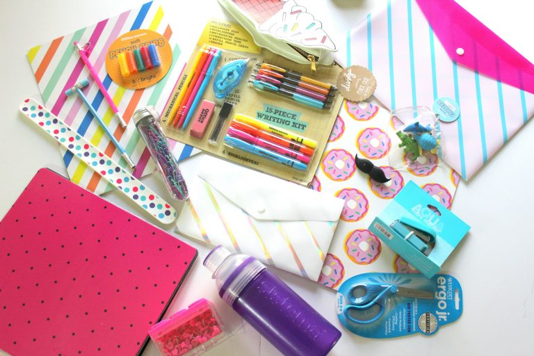 Back to school supplies can be cute!