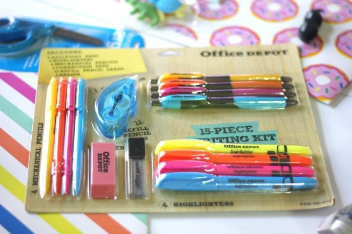 Back to school supplies can be cute!- MOmmySnippets.com (ad) (6)