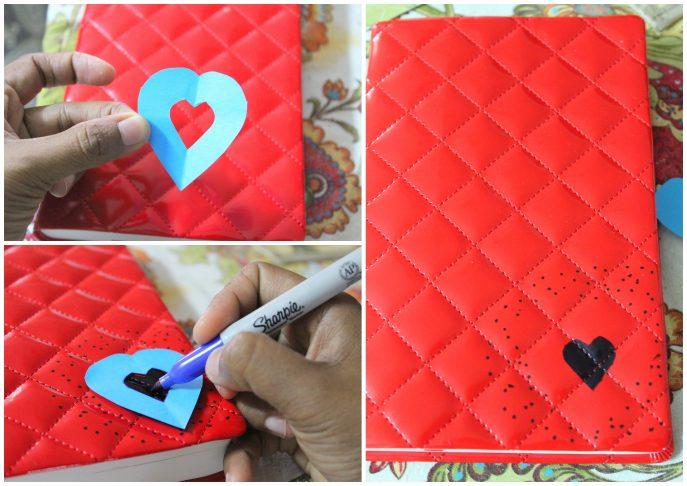 DIY Sharpie Art on Journals