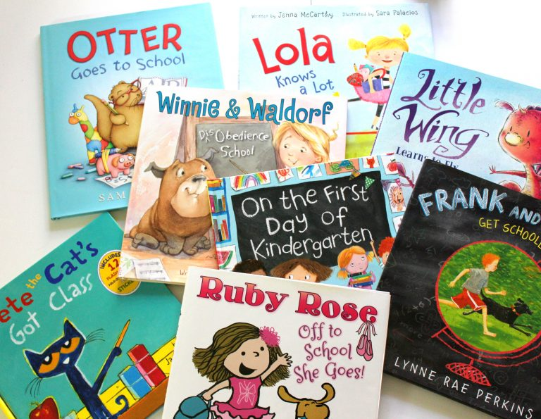 Back to school books your kids will love