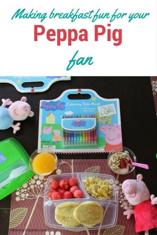 Making breakfast fun for your Peppa Pig fan {Featuring Peppa's Yogurt Parfait Recipe} - MommySnippets.com