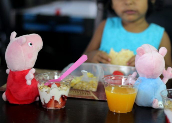 Making breakfast fun for your child { Featuring Peppa's Yogurt Parfait Recipe} - MommySnippets (36)